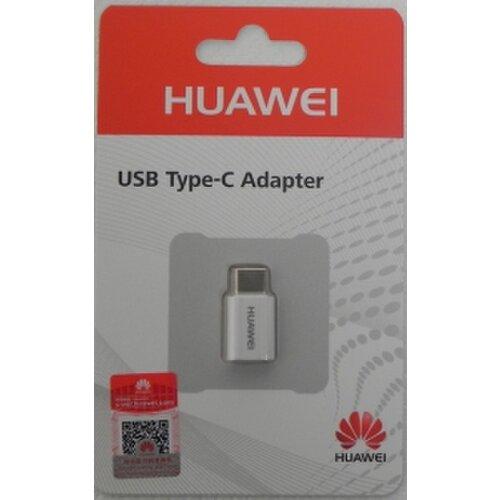 Adaptér Original Huawei AP52 MicroUSB/Type-C Biely (EU Blister)