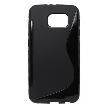 Puzdro S-Line Samsung Galaxy S6 Edge Plus čierne