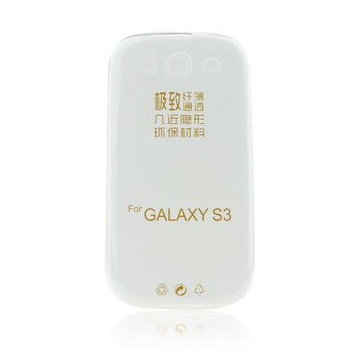 Puzdro Samsung Galaxy S3 i9300/S3 Neo i9301 TPU Ultratenké 0,3mm transparentné