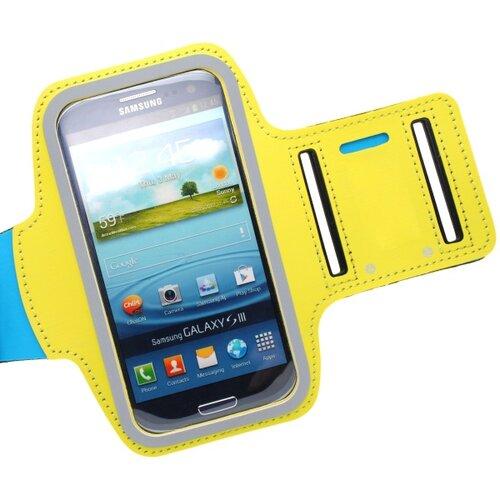 Športové puzdro na rameno Samsung Galaxy S5 G900/S5 Neo G903, žlté