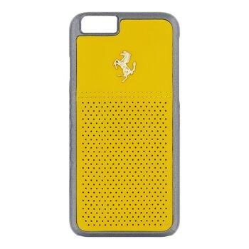 FEGTBGHCP6YE Ferrari GTB Leather Hard Case Yellow pro iPhone 6/6S