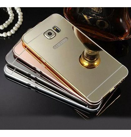 Puzdro Samsung Galaxy S7 G930, Mirror Bumper rose-gold