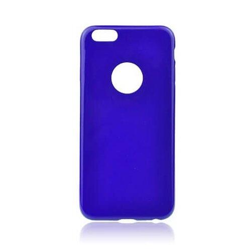 Puzdro na iPhone 6/6s silikónové Jelly Case Flash, fialové