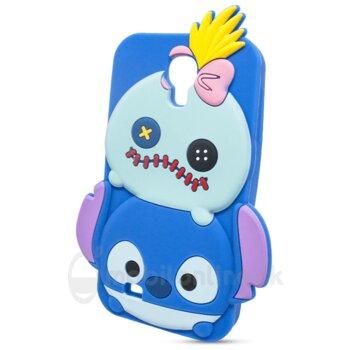 Puzdro 3D TPU Samsung Galaxy S4 i9500/i9505 Stitch monster