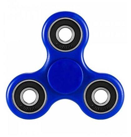 Fidget Spinner, Basic - tmavo-modrý