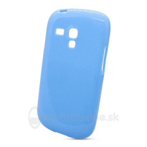 Puzdro NoName TPU Samsung Galaxy S3 mini i8190/i8195/i8200VE - modré
