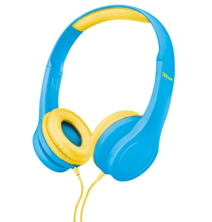 náhlavní sada TRUST Bino Kids Headphone - blue