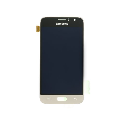 Samsung J120 Galaxy J1 2016 - LCD Displej + Dotyková Plocha - Zlatý (Service Pack)