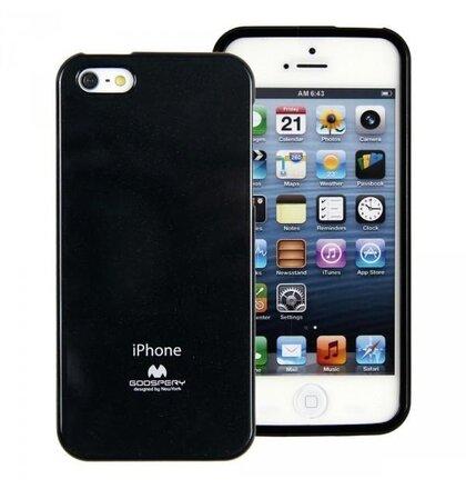 Puzdro Mercury Jelly TPU iPhone 5/5s/SE - limetkové