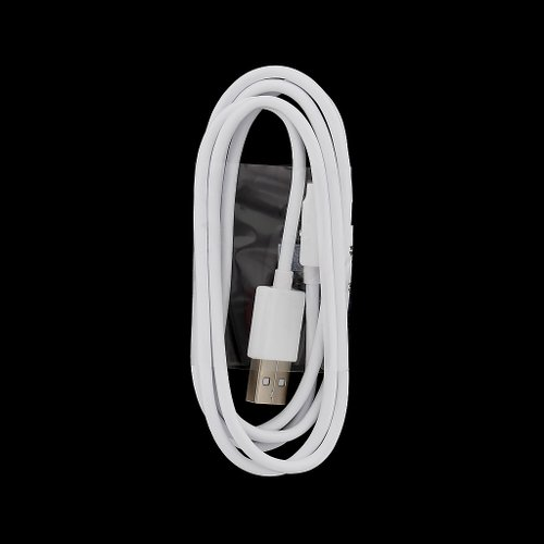Dátový kábel LG MicroUSB 1m Biely (Bulk)