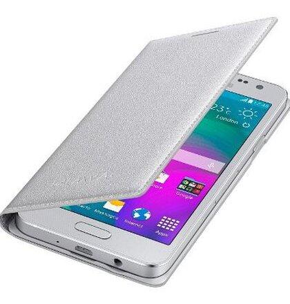 Puzdro EF-FA300BSE Samsung Galaxy A3 A300 Book strieborné (EU Blister)