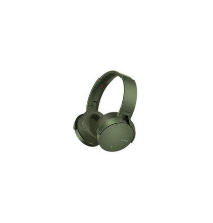 SONY Sluchátka EXTRA  BASS MDR-XB950N1,zelená