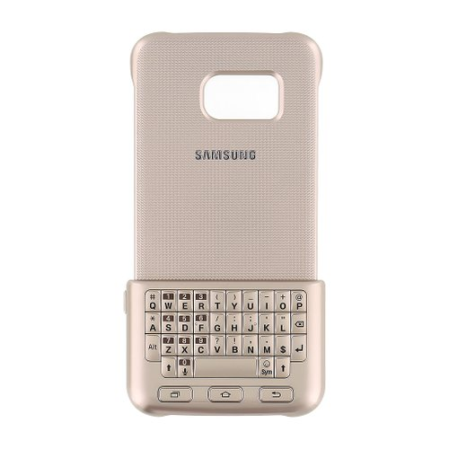 EJ-CG925UFE Samsung Klávesnicový Kryt Gold pro G925 Galaxy S6 Edge (EU Blister)