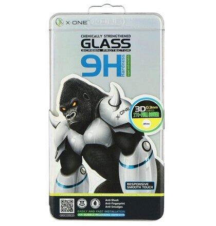 Tvrdené sklo Samsung Galaxy S7 G930 X-one 3D celotvárové - biele
