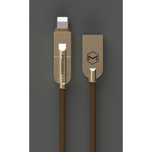 Dátový kábel Mcdodo Lightning/MicroUSB 1.2m Hnedý