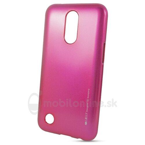 Puzdro Mercury i-Jelly TPU LG K10 2017 M250n - ružové