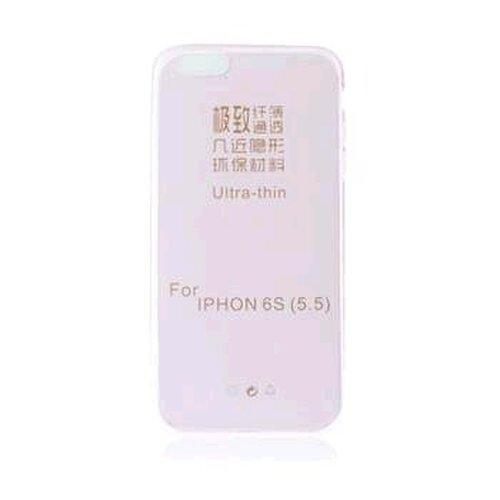 GUMENÉ ULTRA tenké (0,3mm) TPU puzdro určené na iPHONE 6 PLUS ružové