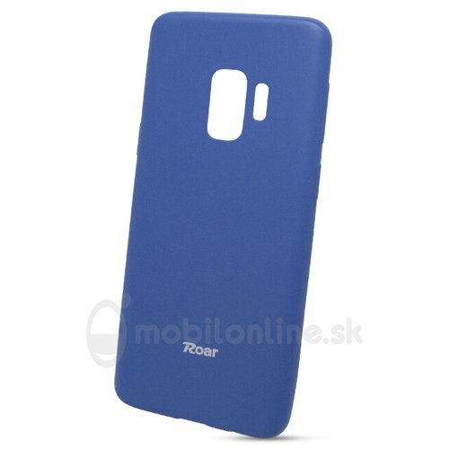 Puzdro Roar Jelly Colorful TPU Samsung Galaxy S9 - modré