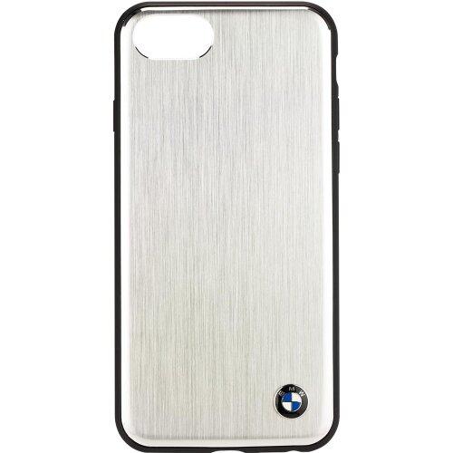 BMHCI8SASI BMW Aluminium Hard Case Silver pro iPhone 7/8