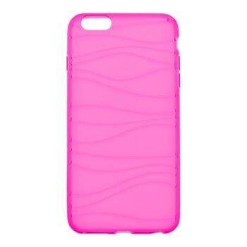 Gumené puzdro Waves iPhone 6S Plus, ružové
