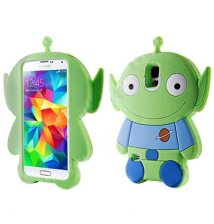 Samsung Galaxy S5 G900/S5 Neo G903 3D guma puzdro Toy Story Alliens