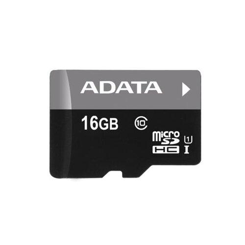 MicroSDHC karta A-DATA 16GB Class 10 + adaptér