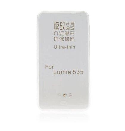 Puzdro Microsoft Lumia 640XL TPU Ultratenké 0,3mm transparentné