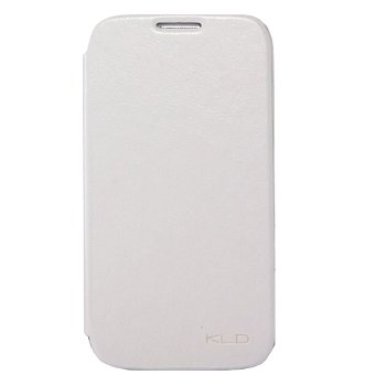 Knižkové diárové púzdro KALAIDENG Enland pre Apple iPhone 6 biele