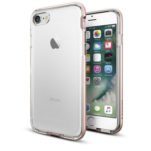 Puzdro iPhone 7/8 Spigen Neo Hybrid Crystal, ružové