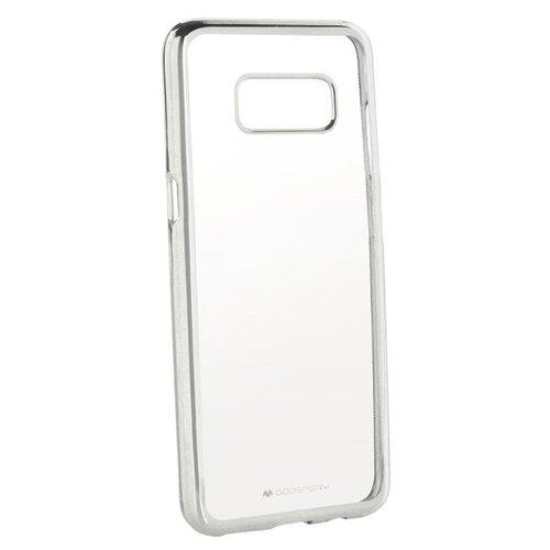 Puzdro Jelly Mercury Ring 2 Samsung Galaxy S8+ G955 - strieborné