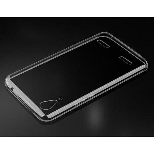 Lenovo A6000/A6000 Plus, A6010/A6010 Plus (K3) gumené ultra tenké (0,3mm) puzdro, transparentné