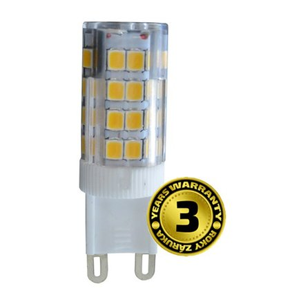 Solight LED žiarovka G9, 3,5W, 3000K, 300lm
