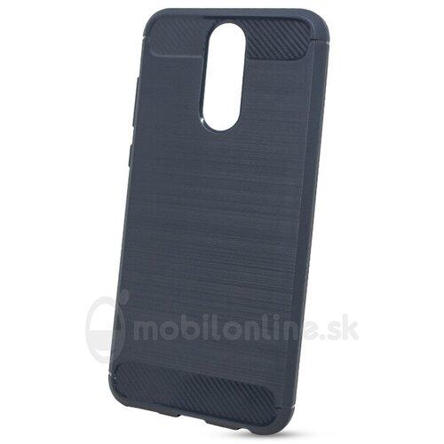 Puzdro Carbon Lux TPU Huawei Mate 10 Lite - modro-čierne