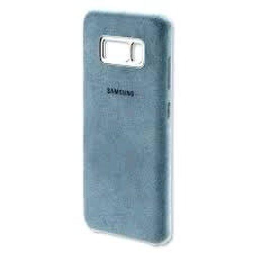 EF-XG955AME Samsung Alcantara Cover Mint pro G955 Galaxy S8 Plus