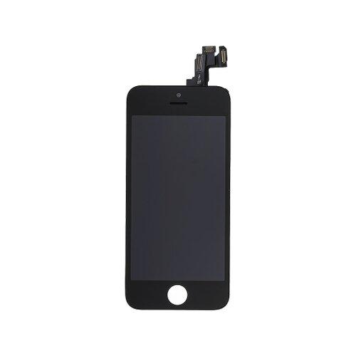 Apple iPhone 5S - LCD Displej + Dotyková Plocha + Malé Časti - Čierny
