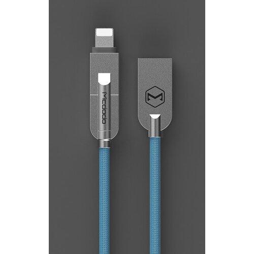 Dátový kábel Mcdodo Lightning/MicroUSB 1.2m Modrý