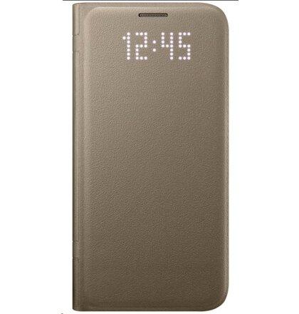 EF-NG930PFE Samsung LED Pouzdro Gold pro G930 Galaxy S7 (EU Blister)