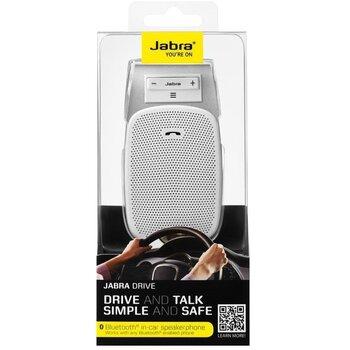 Jabra Drive Multipoint (Blister), biele (Handsfree do auta)