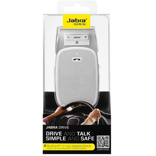 Jabra Drive Multipoint Handsfree do auta Biele