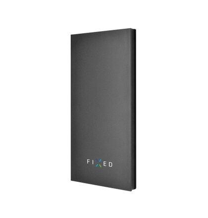 PowerBank FIXED Zen 8000 v luxusnom hliníkovom prevedení, čierna