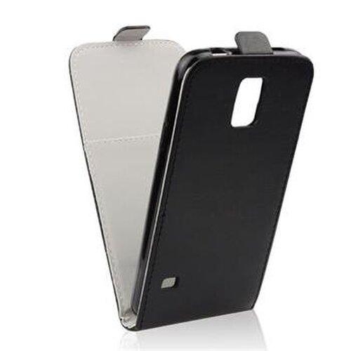 Puzdro Nokia 225 Forcell Slim Flip Flexi Book, čierne
