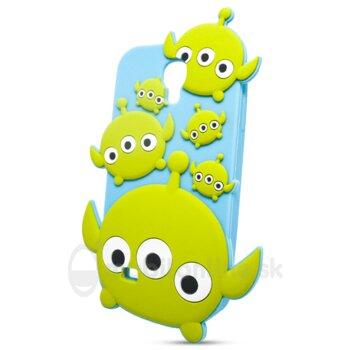Puzdro 3D TPU Samsung Galaxy S4 i9500/i9505 Greenman