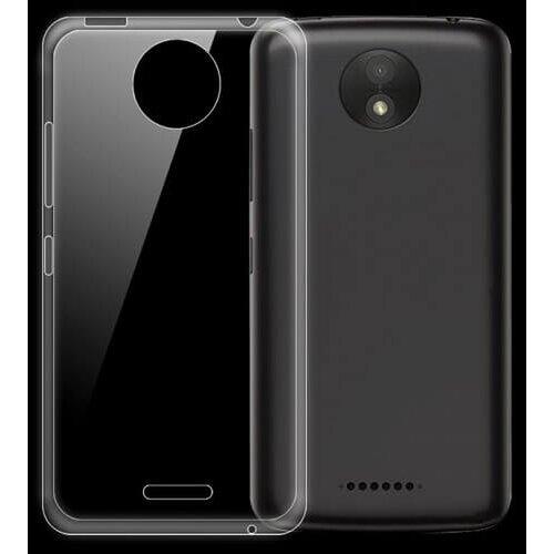 Puzdro No Name TPU 0,3mm Motorola Moto C Plus - transparentné