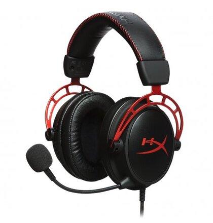 HyperX Cloud Alpha - herní headset červený