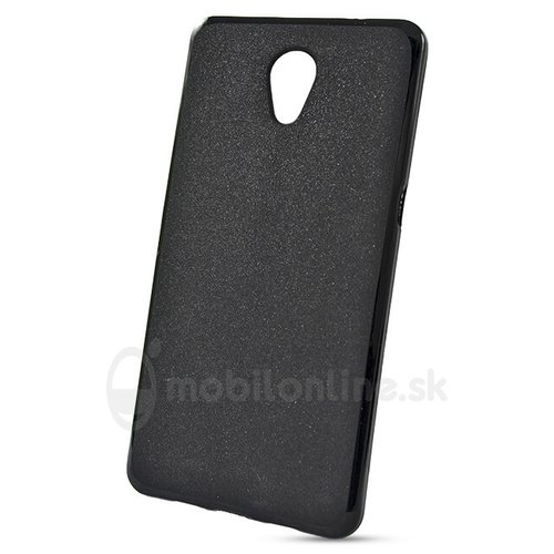 Puzdro Jelly Matt TPU Lenovo P2 - čierne