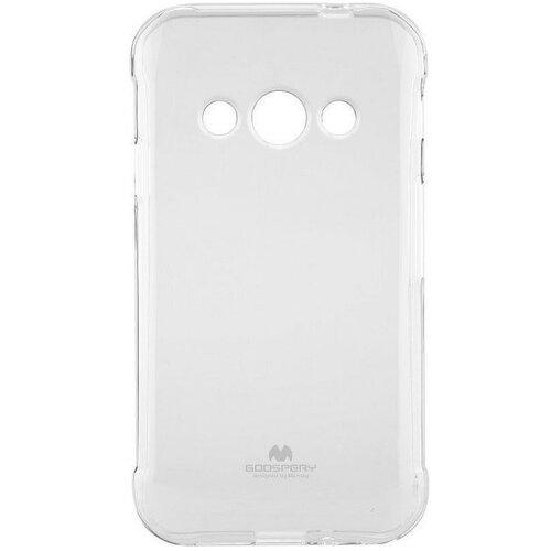 Puzdro Mercury Jelly TPU Samsung Galaxy Xcover 3 G388/G389 - transparenté