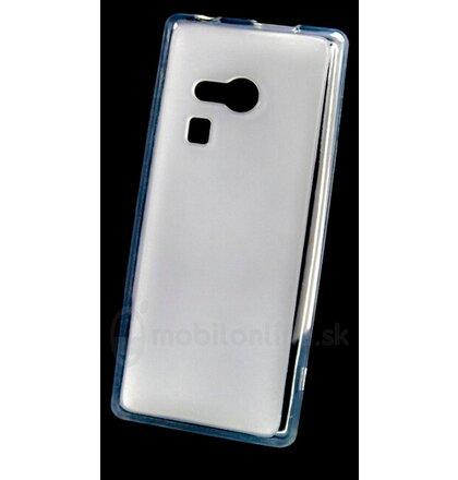 Puzdro Nokia 216/Nokia 150 Frosted TPU, biele