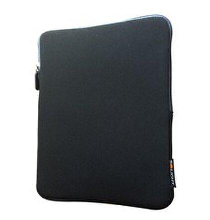 Solight neoprénové puzdro na tablet 10'', nárazuvzdorné polstrovanie, čierne