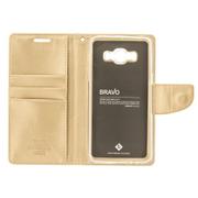 Puzdro Mercury Bravo Diary Book iPhone X - zlaté