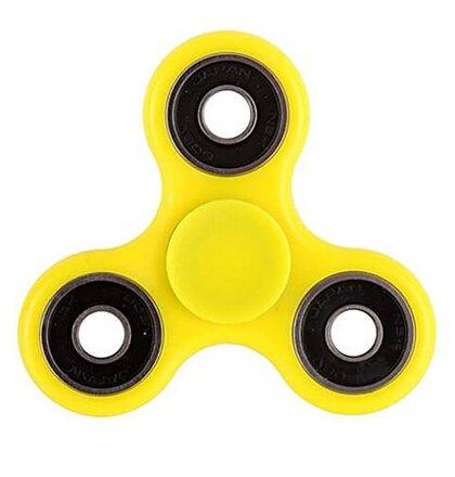 Fidget Spinner, Basic - žltý